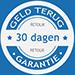 Logo 30 dagen geld terug garantie