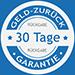 Logo 30 Tage Geld zurück Garantie