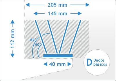 Edelstahl 304 - zertifizierte Taubenspikes Kerndaten